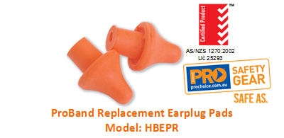 PROCHOICE HBEPR PROBAND REPLACEMENT EARPLUG PADS