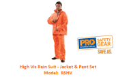 PROCHOICE RSHV HIGH VIS RAIN SUIT - JACKET & PANT SET