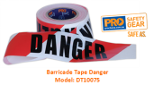 PROCHOICE DT10075  BARRICADE TAPE - DANGER