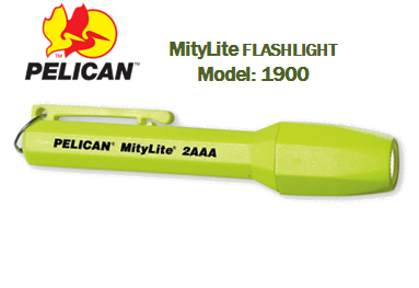 PELICAN 1900 FLASHLIGHT