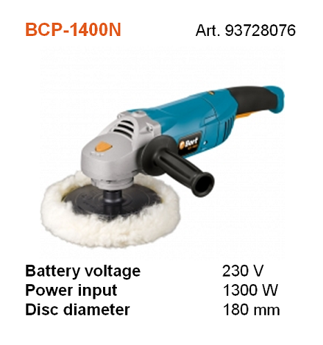 BORT BCP-1400N POLISHING WOOL 180MM (STRING TYPE)