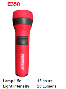 EVEREADY FLASHLIGHT E350