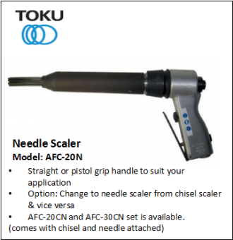 AFC-20N NEEDLE SCALER
