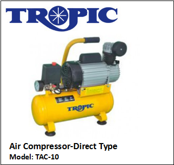TAC-10 AIR COMPRESSOR-DIRECT TYPE