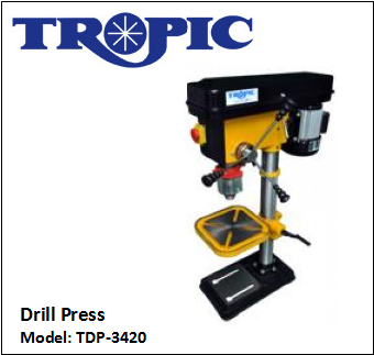 TDP-3420 DRILL PRESS