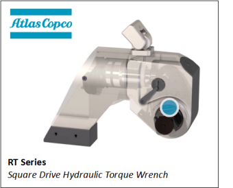 RT SERIES SQUARE DRIVE HYDRAULIC TORQUE WRENCH