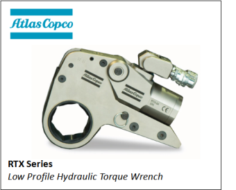 RTX SERIES LOW PROFILE HYDRAULIC TORQUE WRENCH