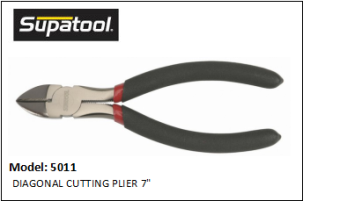 SUPATOOL 5011 DIAGONAL CUTTING PLIER 7""