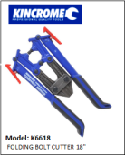 KINCROME K6618 FOLDING BOLT CUTTER 18""