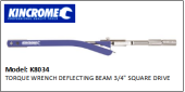 "KINCROME K8034 TORQUE WRENCH DEFLECTING BEAM 3/4"" SQUARE DRIVE"