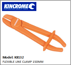 KINCROME K1832 FLEXIBLE LINE CLAMP 150MM