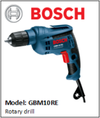 BOSCH GBM10RE Rotary drill