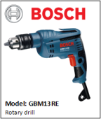BOSCH GBM13RE Rotary drill