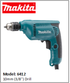 MAKITA 6412 10mm (3/8'') Drill