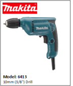 "MAKITA  10mm (3/8"") Drill"