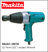 MAKITA 6905B 12.7mm (1/2'') Impact Wrench