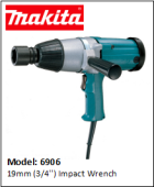 MAKITA 6906 19mm (3/4'') Impact Wrench