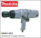 MAKITA 6910 25.4mm (1'') Impact Wrench