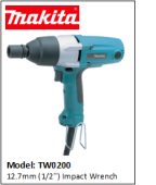 MAKITA TW0200 12.7mm (1/2'') Impact Wrench