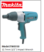 MAKITA TW0350 12.7mm (1/2'') Impact Wrench