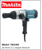 MAKITA TW1000 25.4mm (1'') Impact Wrench