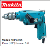 MAKITA NHP1300S 13mm (1/2'') Hammer Drill