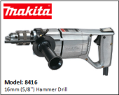 MAKITA 8416 16mm (5/8'') Hammer Drill