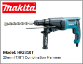 "MAKITA HR2310T 23mm (7/8"") Combination Hammer"