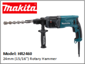 MAKITA HR2460 24mm (15/16'') Rotary Hammer