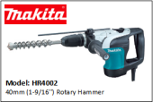 MAKITA HR4002 40mm (1-9/16'') Rotary Hammer