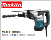 MAKITA HR4030C 40mm (1-9/16'') Rotary Hammer