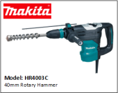 MAKITA HR4003C 40mm Rotary Hammer