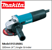 MAKITA 9556NBG 100mm (4'') Angle Grinder