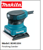 MAKITA BO4510H Finishing Sander