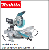 MAKITA LS1216 Slide Compound Saw 305mm (12'')