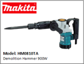 MAKITA HM0810TA Demolition Hammer 900W  - 110V