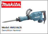 MAKITA HM1306/B Demolition Hammer