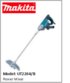MAKITA UT2204 Power Mixer