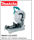 "MAKITA LC1230/B  305mm (12"") Metal Cutting Saw"