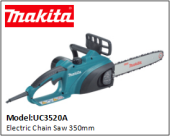 MAKITA UC3520A Electric Chain Saw 350mm