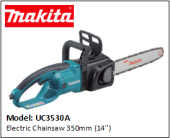 MAKITA UC3530A Electric Chainsaw 350mm (14'')