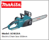 MAKITA UC4020A Electric Chain Saw 350mm
