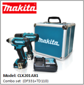 MAKITA CLX201AX1 Combo set
