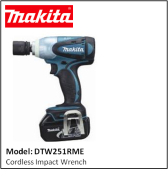 MAKITA DTW251RME Cordless Impact Wrench