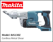 MAKITA BJS130Z Cordless Metal Shear