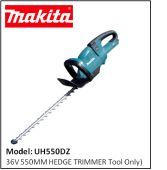 MAKITA UH550DZ 36V 2.2AH LI-ION HEDGE TRIMMER
