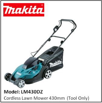 MAKITA LM430DZ Cordless Lawn Mower 430mm  (Tool Only)