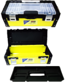 400mm x 180mm x 180mm Tool Box ''PVC and Metal''