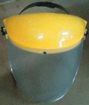 FACE SHIELD YELLOW TOP