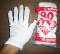 100% WHITE COTTON GLOVE